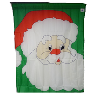 Image for Santa Face Decorative Flag