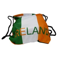 Image for Irish Flag Drawstring Gym Bag