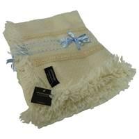Image for Branigan Weavers Wool Blanket, Blue