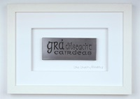 "Image for Wild Goose "" gra dilseacht cairdeas"" Framed"