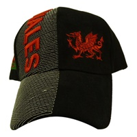 Image for 3D Embroidered Hat Wales