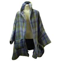 Image for Donegal Design Irish Mohair Sleeved Cape