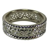 Image for Fado Silver Celtic Ring