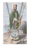 Image for St. Patrick Pendant with Prayer Card