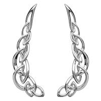 Image for Shanore Sterling Silver Celtic Climber Earrings