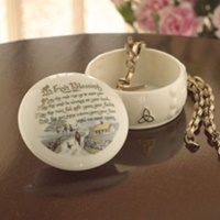 Image for Belleek China Irish Blessing Gift Box