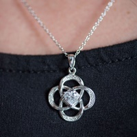 Image for Celtic Birthstone Pendant, April