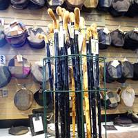 Image for Handcrafted Irish Blackthorn Walking Stick