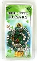 Image for Green Star Beads Rosary Bracelet