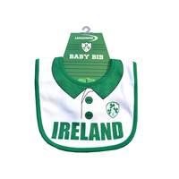 Image for Ireland Baby Rugby Shirt Bib, White