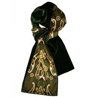 Image for Patrick Francis Bk Motif Velour Scarf, Bottle