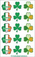 Image for Bubble Stickers, Shamrock