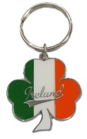 Image for SHAMROCK IRELAND FLAG KEYRING