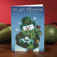 "Image for Abbey Press ""Glad Tidings"" Christmas Cards"