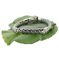 Image for Dragon Weave Eternity Bar Bracelet Keith Jack
