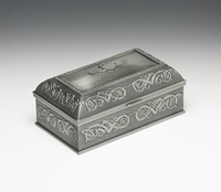 Image for Mullingar Pewter Claddagh Jewelry Box -M