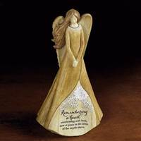 """Image for """"Remembering a Heart"""" Memorial Angel Figurine"""