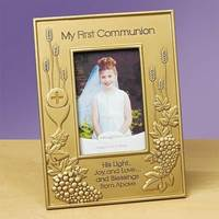 """Image for """"My First Communion"""" Photo Frame"""