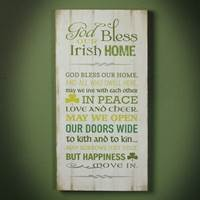 "Image for ""Irish Home"" Plaque"