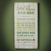 "Image for ""Irish Home"" Plaque"