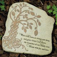 "Image for ""Irish Tree of Life"" Garden Stone"