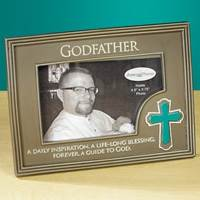 Image for Godfather Photo Frame with Cross