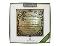 Image for A Home Blessing Bronze Plaque
