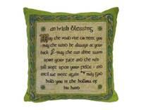 Image for Irish Blessing Cushion Cover, Large