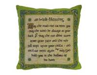 Image for Irish Blessing Cushion Cover, Small