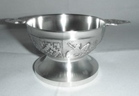 Image for Celtic Knot Quaich Wedding Cup, Large