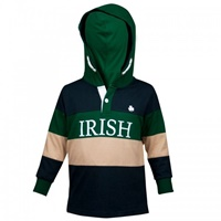 Image for Croker Kids Irish Hooded Rugby Jersey