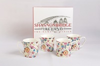 Shannonbridge Ditsy Flowers 4 Piece Mug Set