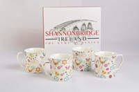 Image for Shannonbridge Funky Hen 4 Piece Mug Set