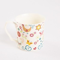 Shannonbridge Funky Hen 4 Piece  Mug Set