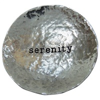 Image for Bright Metal Trinket Dish, Serenity