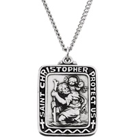 Image for Saint Christopher Pendant Square