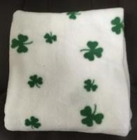 Image for Shamrock Fleece Baby Blanket
