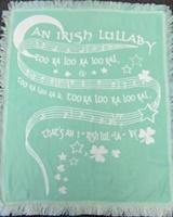 Image for Irish Lullaby Baby Blanket Too Ra Loo Ra