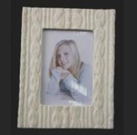 "Image for Aran Sweater Stitch 4"" X 6"" Picture Frame"