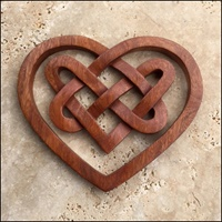 Image for Celtic Three Heart Knot