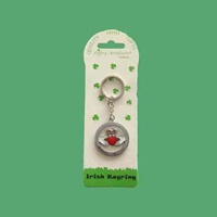 Image for Claddagh Metal Keyring