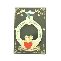 Image for Fine Bone China Friendship, Loyalty, Love  Claddagh Ornament