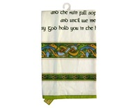 Image for Single Tea Towel with Irish Blessing