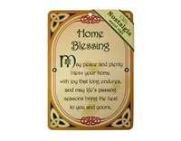 Image for Home Blessing Nostalgia Metal Sign, 21cm x 15cm