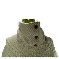 Image for Herringbone Infinity Merino Wool Scarf, Wick/W