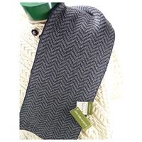 Image for Herringbone Merino Wool Scarf - Derby