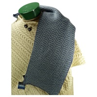Image for Herringbone Merino Wool Scarf, Dn. Mr/