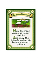 Image for An Irish Blessing with Cottage Tea Towel