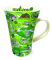 Image for Tall Ireland Mug