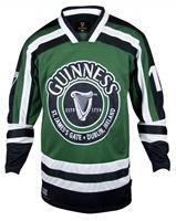 Guinness Green and White Harp Hockey Shirt